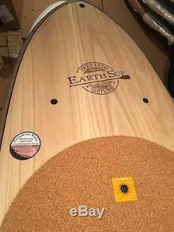 10'0 BIC Sport TORRE Earth SUP STAND UP PADDLE BOARD Yoga/Fitness CORK DECK