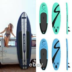 10/11' Inflatable Stand Up Paddle Board SUP Surfboard with complete kit 6''thick