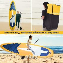 10.5ft Inflatable Stand Up Paddle Board SUP Surfboard With Complete Kit 6''Thick