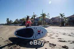 10'6 ISUP Stand Up paddle board Complete Package (WHITE) HOT DEAL! NEW