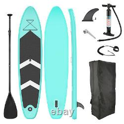 10.6' Inflatable SUP Stand Up Paddle Board Adjustable Fin Paddle with Complete Kit