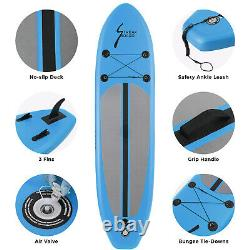 10' 6'' Inflatable Stand Up Paddle Board SUP Surfboard withcomplete kit Non-Slip