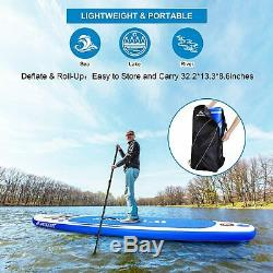 10.6ft Allround Inflatable Stand Up Paddle Board, Non-Slip Deck (6 Inches Thick)