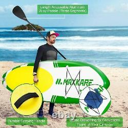 10.6ft Inflatable Stand Up Paddle Board SUP Surfboard with Complete kit Pump New
