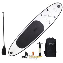 10 Ft Inflatable SUP Stand Up Paddle Board with Adjustable Paddle Travel Backpack