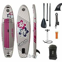 10 Inflatable Stand-Up Paddle Board ISUP Sail Fin ALOHA