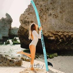 10' Inflatable Stand Up Paddle Board Non-Slip Deck 6'' Thick with Complete Kit NEW