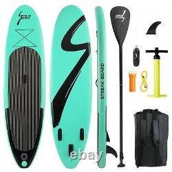 10' Inflatable Stand Up Paddle Board Non-Slip Deck with Premium SUP Accessories
