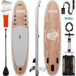 10' Inflatable Stand Up Paddle Board SUP Surfboard Leash Two Layer Touring