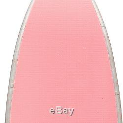 10' Inflatable Stand Up Paddle Board SUP Surfboard Two Layer Adjustable Package