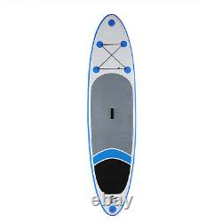10' Inflatable Stand Up Paddle Board Surfboard SUP 3 Fins withComplete Kit+Bag NEW