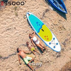 10' Inflatable Stand Up Paddle Board Surfboard SUP Paddelboard with complete kit