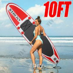 10 Inflatable Stand Up Paddle Boards Surfboard SUP withFin+Pump+Complete Kit+Bag