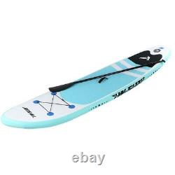 10 Inflatable Super Stand Up Paddle Board Surfboard Adjustable Fin Paddle Beach