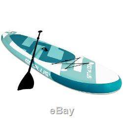 10' Inflatable Surfboard Beach Ocean Stand up Paddle Board Surfing Board WithBag