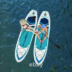 10' SUP Inflatable Stand Up Paddle Board Surfboard Paddelboard with complete kit