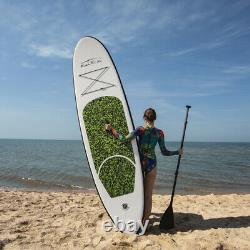 10' Surfboard Inflatable Stand Up Paddle Board SUP with complete kit 6'' thick