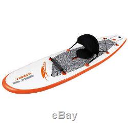 10-ft Inflatable Stand Up Paddleboard with Paddle & Hand Pump Stingray
