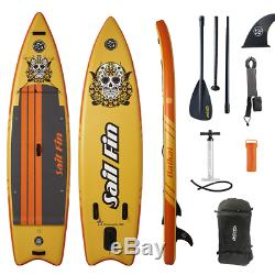 10ft 6in Inflatable Stand Up Paddle Board 10'6 SUP Kit 1-Year Limited Warranty