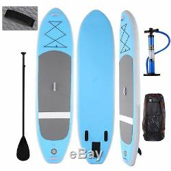 10ft Inflatable Stand Up Paddle Board (6 Thick, 30 Wide) ISUP Board wit