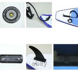 10ft Inflatable Surfboard SUP Stand Up Paddle Board Paddle Pump With Complete kit