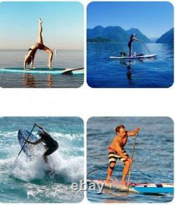 10ft Inflatable Surfboard Stand Up Paddle Board Paddle Pump With SUP Accessories