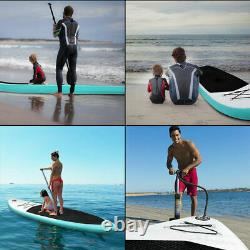 10ft Inflatable sup Stand Up Paddle Board Non-Slip Deck with Accessories paddle