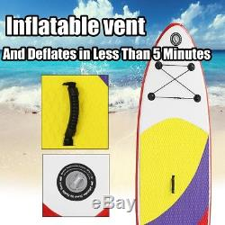 10ft Paddle Board Sports Surf Inflatable Stand Up Water Racing SUP Bag Pump Oar