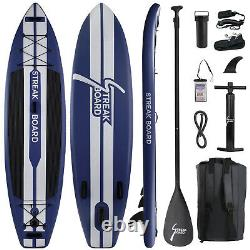 11FT Inflatable Paddle Stand Up Paddle Board with Premium Complete Kit