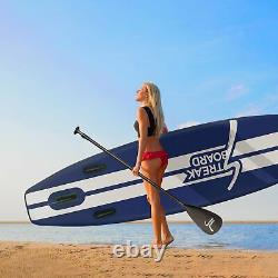 11FT Inflatable Stand Up Paddle Board SUP Surfboard with complete kit 6'' thick