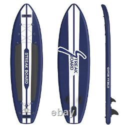 11/10' Inflatable Stand Up Paddle Board Non-Slip SUP Surfboard with Complete Kit