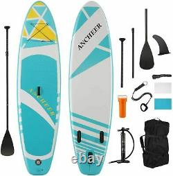 11'/10' Inflatable Stand Up Paddle Board Surfboard SUP Paddelboard complete Kit^
