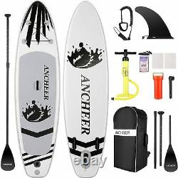 11'10'Inflatable Stand Up Paddle Board Surfboard SUP Paddelboard complete Kit`