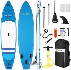 11'10'Inflatable Stand Up Paddle Board Surfboard SUP Paddelboard complete Kit