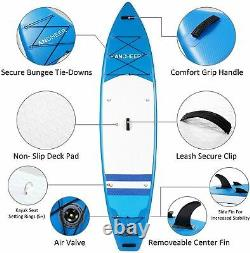 11'-10'Inflatable Stand Up Paddle Board Surfboard SUP Paddelboard complete Kit`