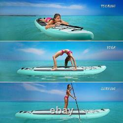 11' 32 6 Inflatable Paddle Board Stand Up Paddle Board with Premium Accessories
