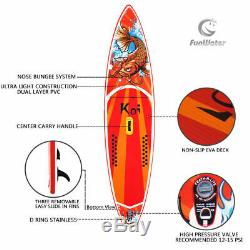 11'6''/10'6'' Inflatable Stand up paddle Board SUP Board ISUP with complete kit