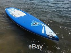 11' Bic Sport Wing Lightly used stand up paddleboard SUP with Paddle Fin Leash