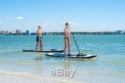 11 Foot Tall 34 Inch WIDE Inflatable Stand Up Paddle Board SUP WithTravel Backpack
