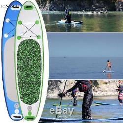 11 Inflatable SUP Stand up Paddle Board Surfboard Adjustable Bag Fin Paddle New
