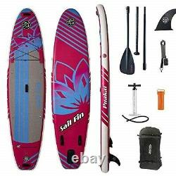 11 Inflatable Stand-Up Paddle Board ISUP Sail Fin PuaKai