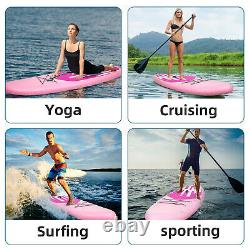 11' Inflatable Stand Up Paddle Board SUP Surfboard Complete Kit Surfing Cruising