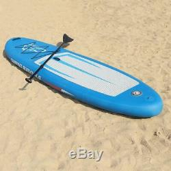 11' Inflatable Stand Up Paddle Board SUP Surfboard with Repair Kit Large Size