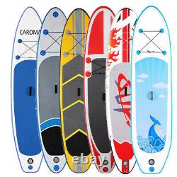 11' Inflatable Stand Up Paddle Board SUP Surfboard with complete kit 6'' thick #