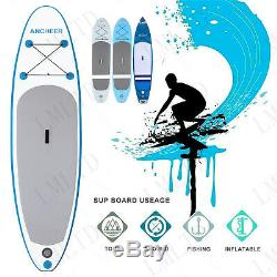 11' Inflatable Stand Up Paddle Board SUP withAdjustable Paddle & Travel Backpack