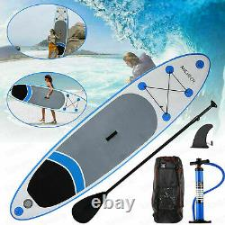 11' Inflatable Stand Up Paddle Board Surfboard SUP withFin+Complete Kit + Bag