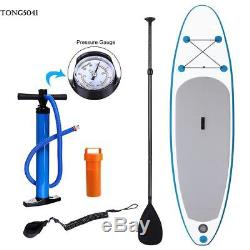 11 Inflatable Stand Up Surfing Paddle Board SUP Adjustable Paddle Backpack Set#