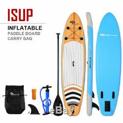 11 Inflatable Stand up Paddle Board Surfboard SUP With Bag Adjustable Fin Paddle