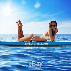 11' Inflatable Stand up Paddle Board Surfboard Water Sport All Skill Level WithBag