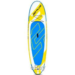 11' Inflatable Stand up Paddle Board Surfboard WithBag All Skill Level Water Sport